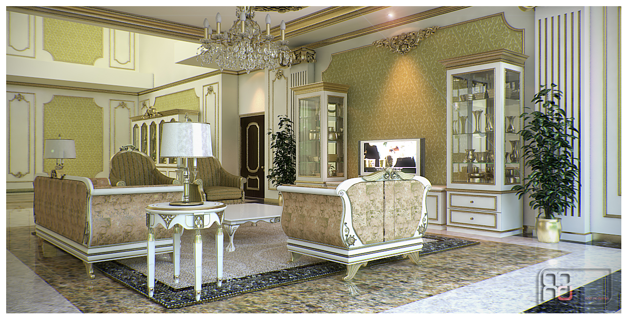 Classic style interior by mndh on deviantart for Villa d arte interior design home collection