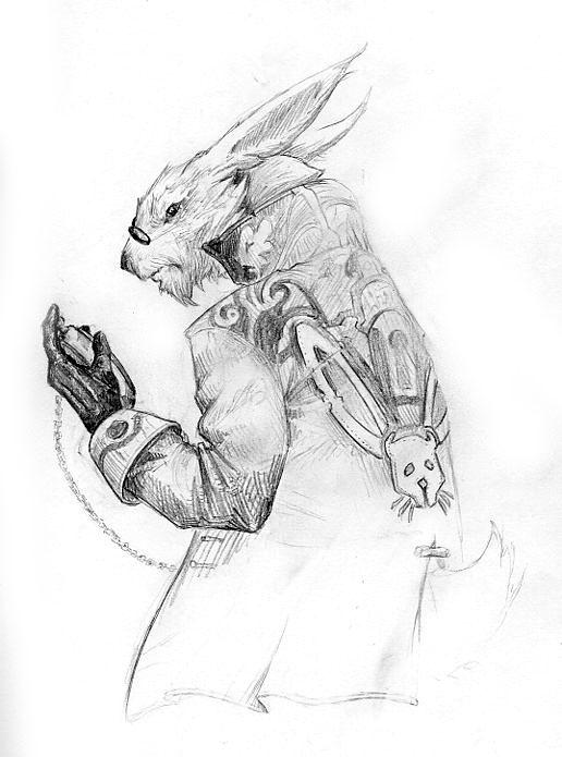 The White Rabbit by DanMaynard