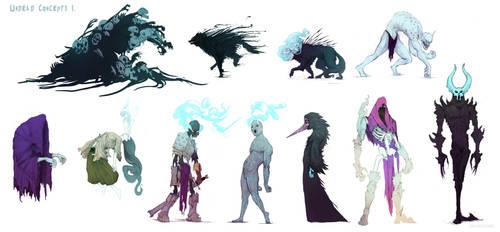 Undead Concept art.
