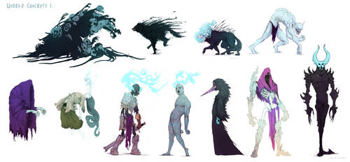 Undead Concept art. by DanMaynard