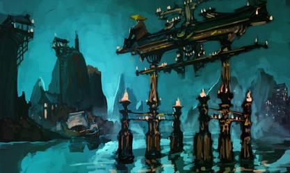 Forgotten City by DanMaynard