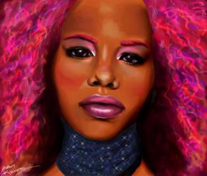 Pink Frizzz by soulsurfer