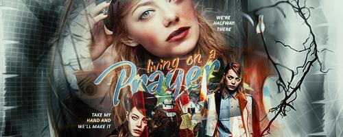 Living On A Prayer by monasam