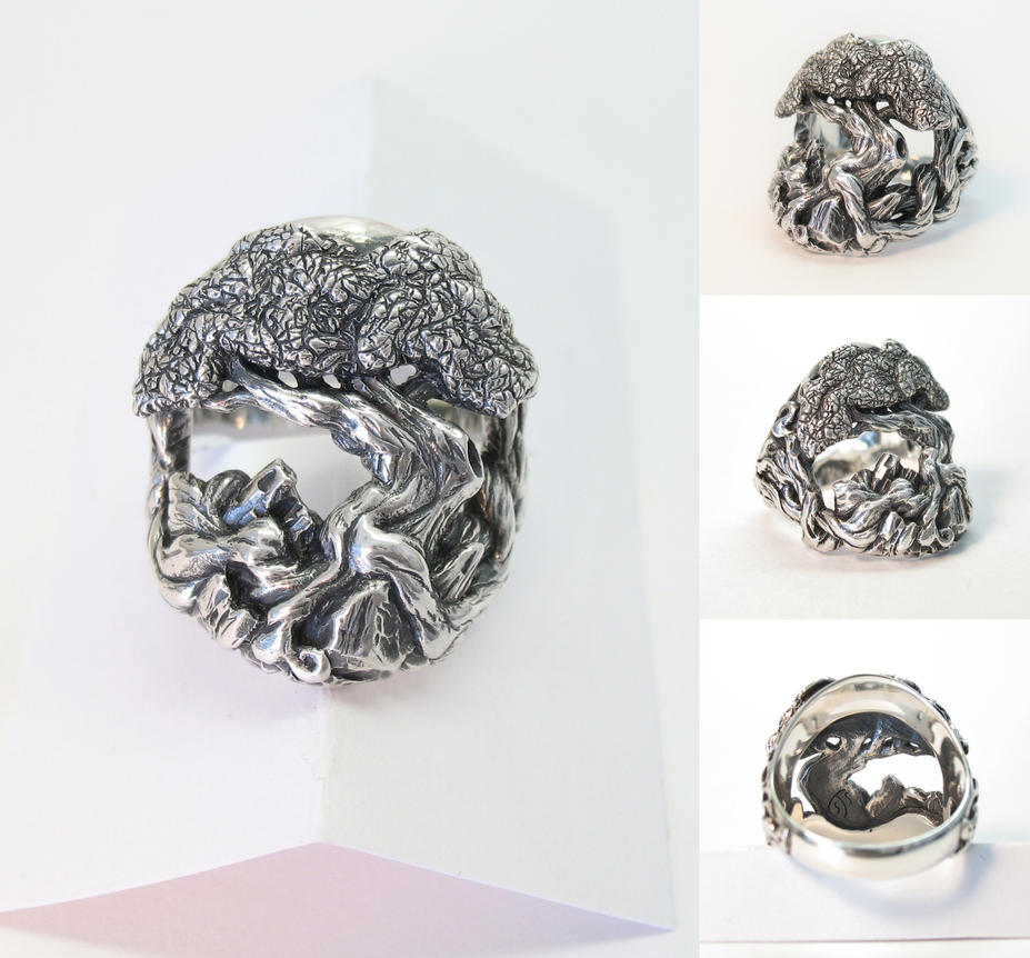Tree Of Life Ring By Cloud Dragonz On DeviantART