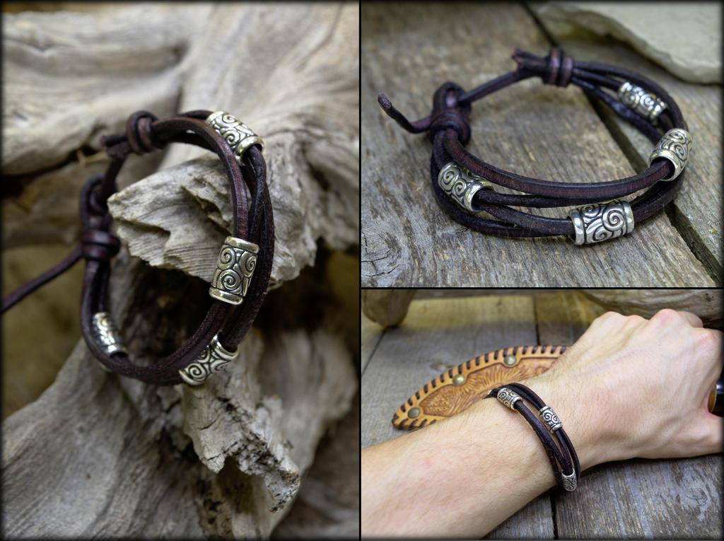 Silver Wind Bracelet by Cloud-Dragonz
