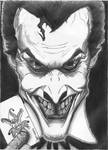 Evil Incarnate : The Joker by SiddharthNagarajan