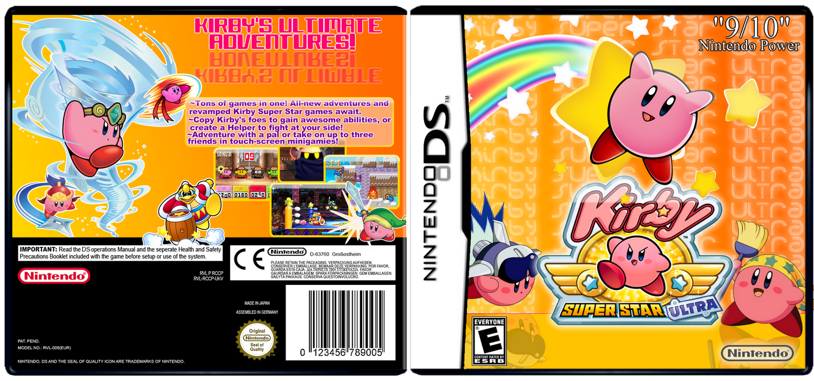 Kirby Super Star Ultra Details - LaunchBox Games Database |Kirby Super Star Box