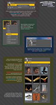 Creating Categories in DAZ Studio