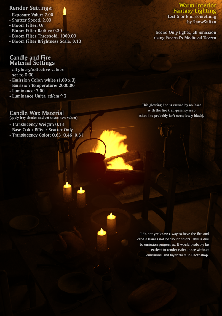 Iray fantasy interior light test settings by snowsultan on for Interior design lighting quiz