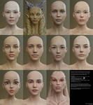Genesis 8 Female Character Examples 1