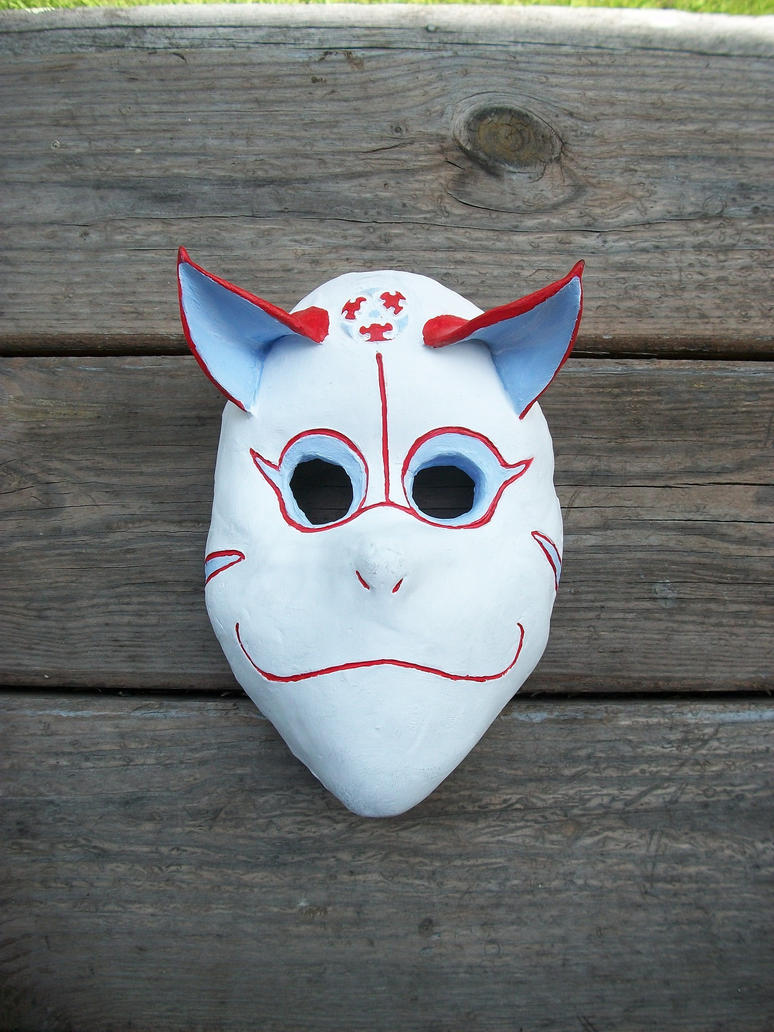 Fox-Anbu Mask by Nijicx on DeviantArt