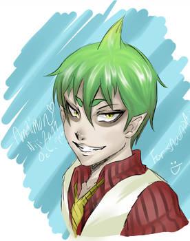 Amaimon Sketch- For Sawada