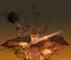 Make Those Charred Bones Proud by Nijicx