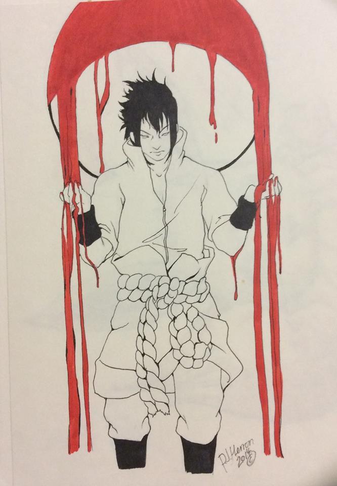 Sasuke by NijixSmallGrey