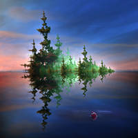 Fishing on a Fractal Swamp by sublumenal