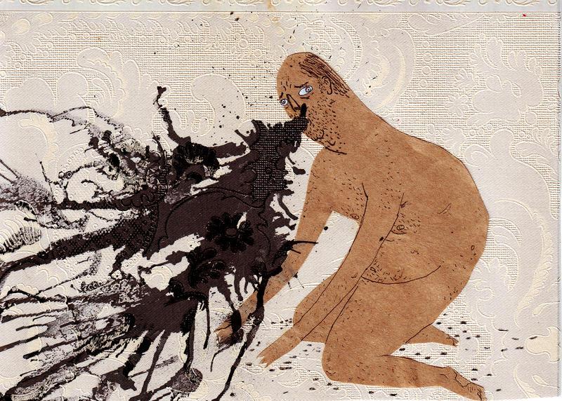 the black tar vomit. by boobookittyfuck