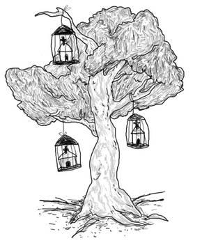 the church tree.