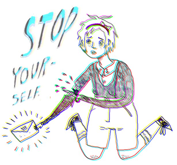 stop yourself. by boobookittyfuck