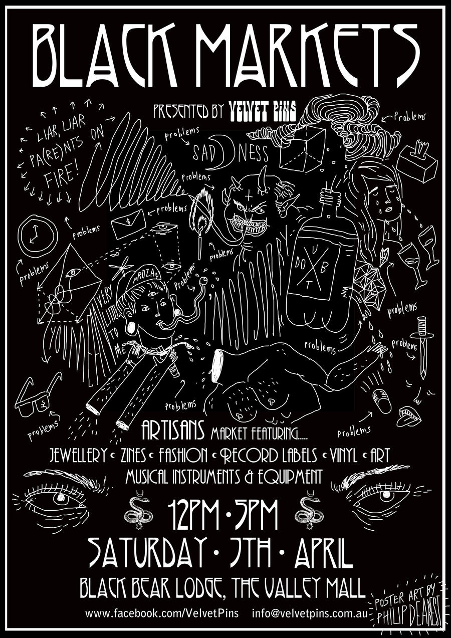black market poster april 2012 by boobookittyfuck