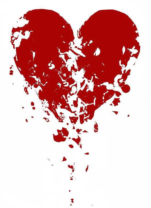 crumbling heart design. by boobookittyfuck ...