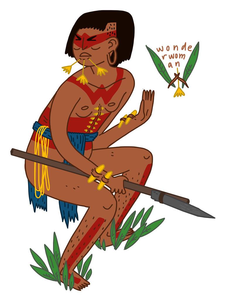 Wonder Woman, Amazonian Princess by boobookittyfuck