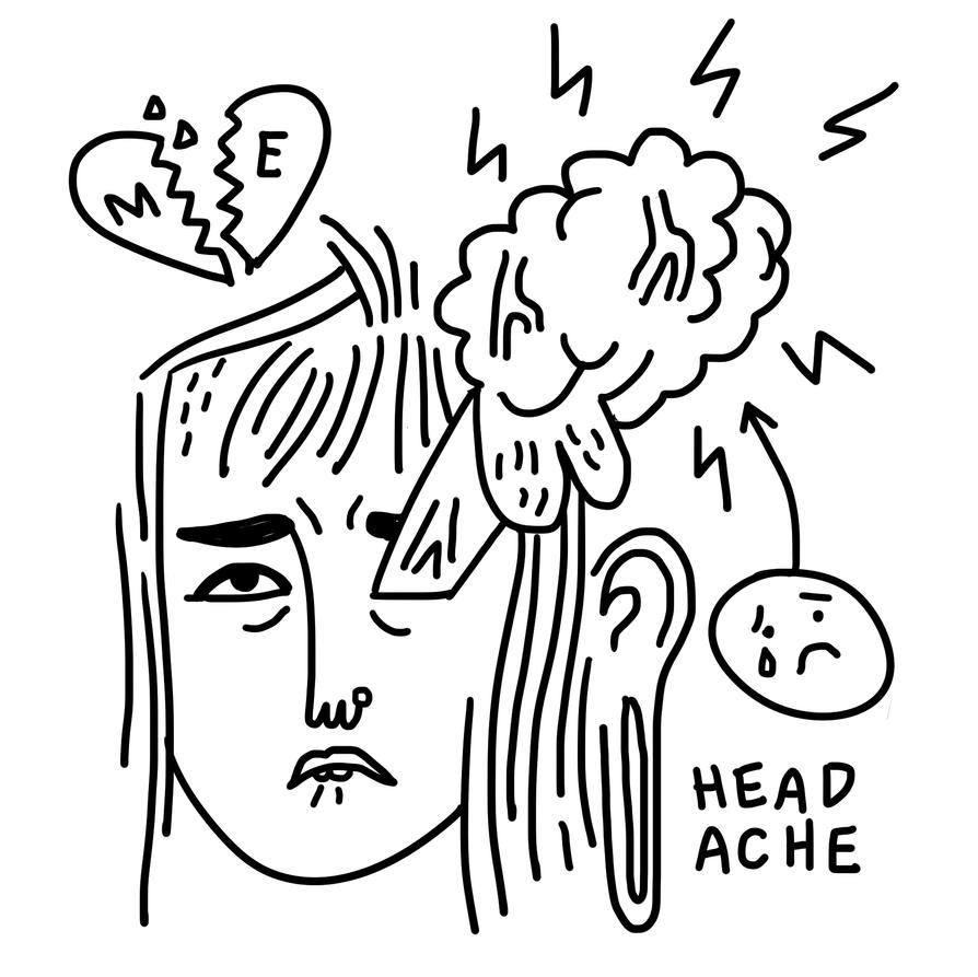 headache by boobookittyfuck