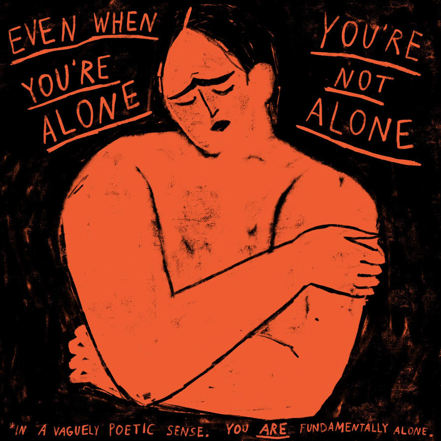 Youre Not Alone By Boobookittyfuck