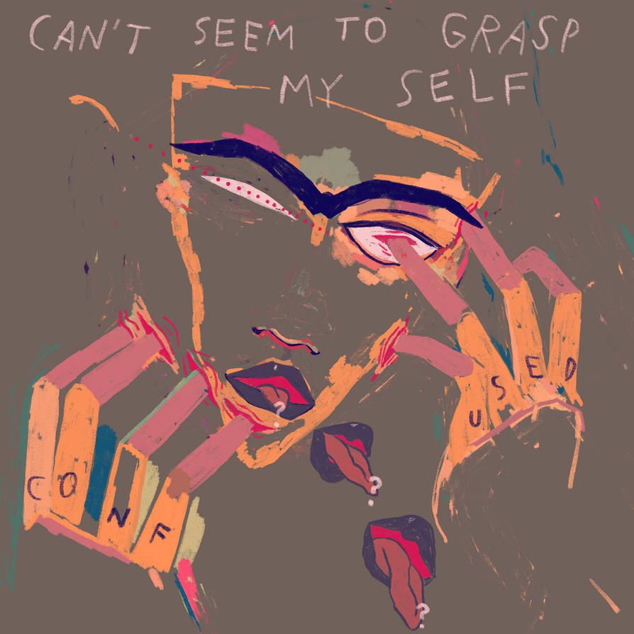 cant seem to grasp my self by boobookittyfuck