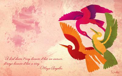 Three Birds by suhela