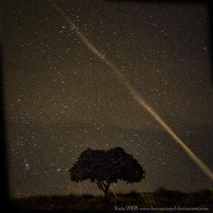 Sleeping under stars by HispanoSfera