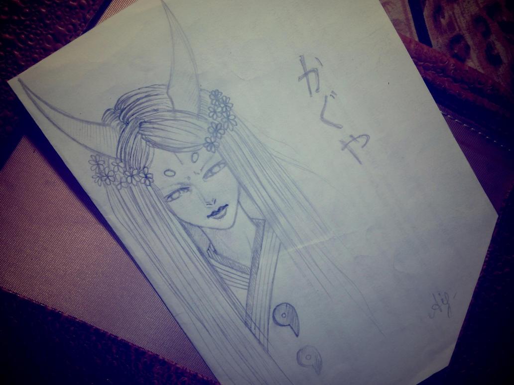 Kaguya Ootsutsuki (Naruto) by Anhecenpaaton