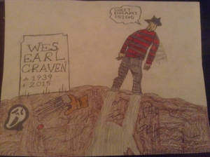 R.I.P Wes Earl Craven (The Man of Nightmares)
