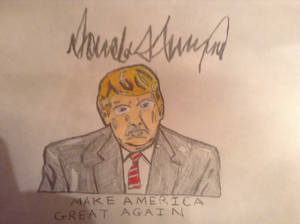Donald J Trump The President Of America