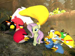 Fluttershy meets Angry Birds