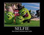 Angry Birds- Selfie