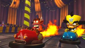 WOAH!! BUMPER CARS!