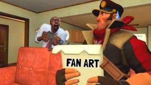 Posting Fan Art