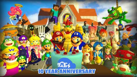 SMG4 10 Year Anniversary