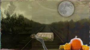 Beware: Haunted Railroad by Frozenonthesea