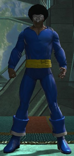 dcuo black lightning 1977 character creation by cosmicmagnitude on