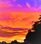 Colorful skyscape