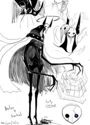 Angel of Witches: Belos (Body Exposed sketch)