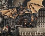 Steampunk Batman by R-Tan