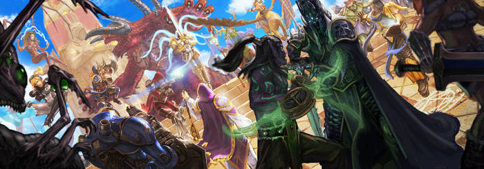 The Battle for Sky Temple Begins