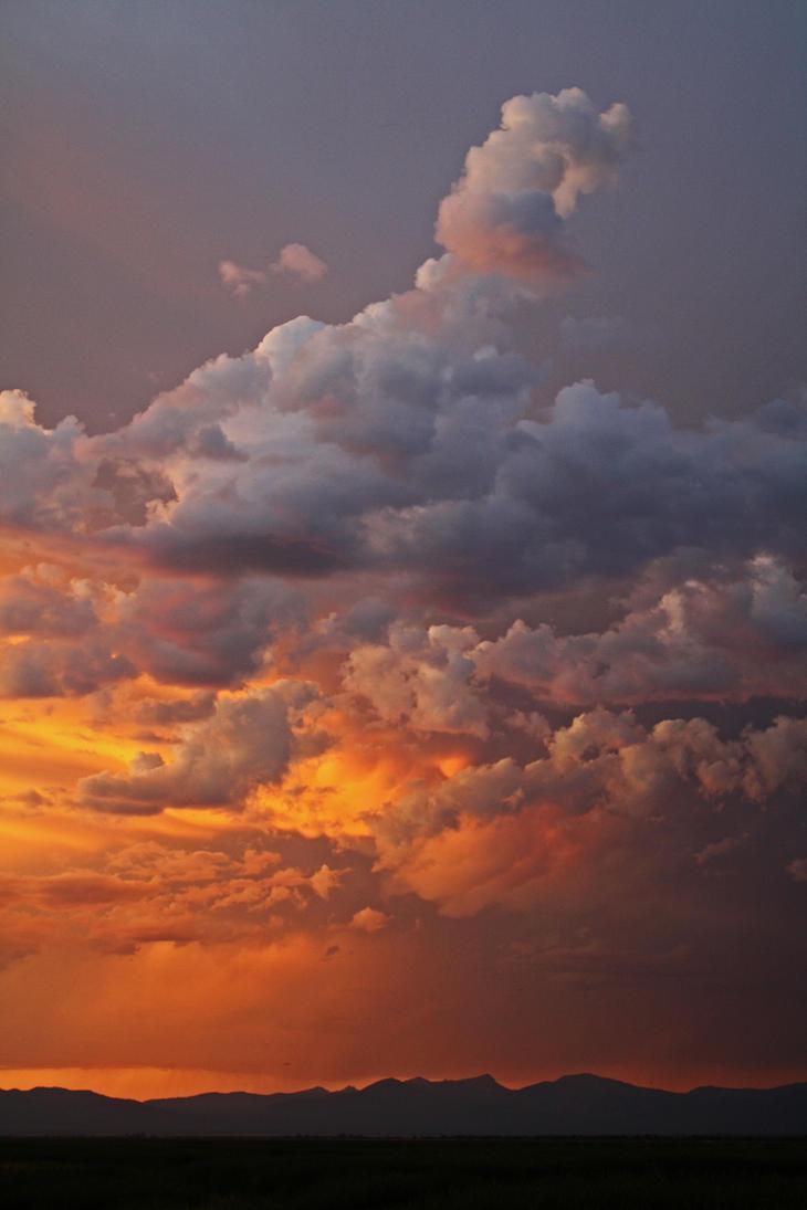 Cascade Sunset by Thundercatt99