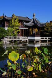 Lan Su Chinese Garden by Thundercatt99