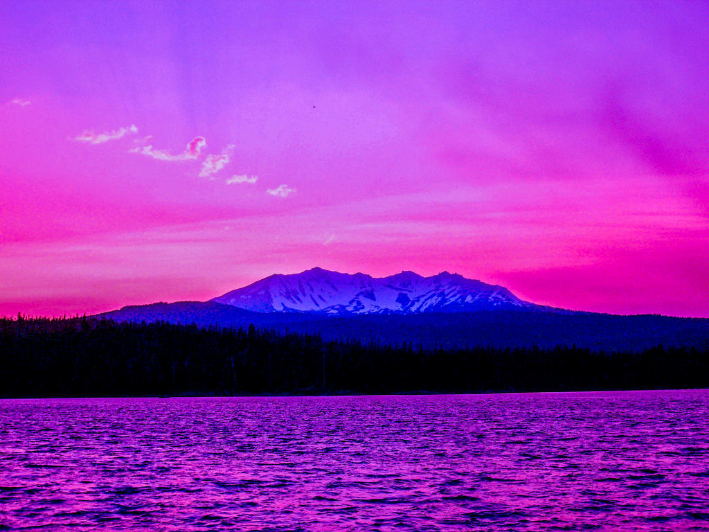 Cascade Mountain Sunrise by Thundercatt99