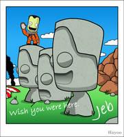 Jeb's Vacation to Kerbal Island
