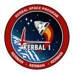 Kerbal-I Mission Patch Logo