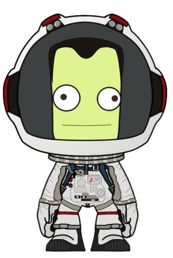 kerbal in space suit - photo #11